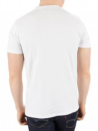 Levi's White Red Tab Crew Neck T-Shirt