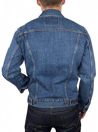 Levi's Medium Stonewash The Trucker Denim Jacket