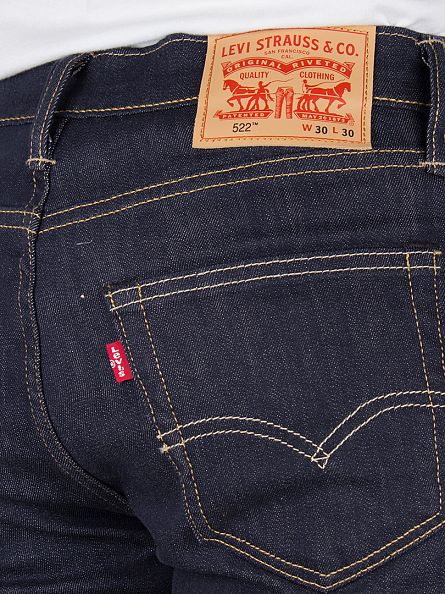 Levi's Big Bend 522 Slim Taper Fit Jeans