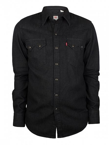 Levi's Black Sawtooth Denim Shirt