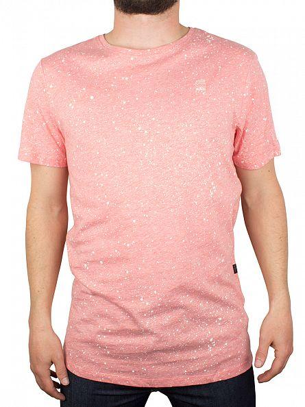 G-Star Flame Heather Shortsleeved Splatter T-Shirt