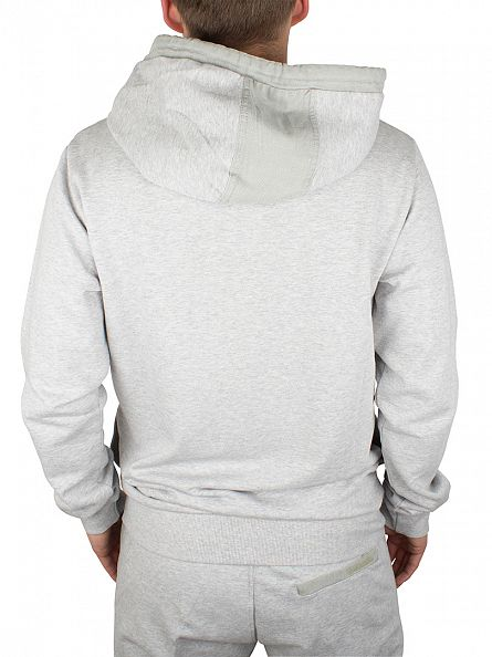 Diesel Light Grey UMLT Brandon Zip Sweatshirt