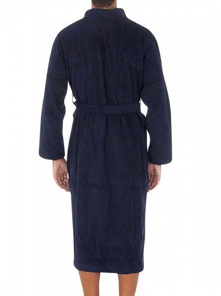 Polo Ralph Lauren Cruise Navy Kimono Long Robe