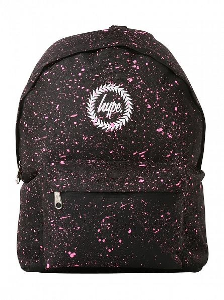Hype Black/Pink Speckle Backpack