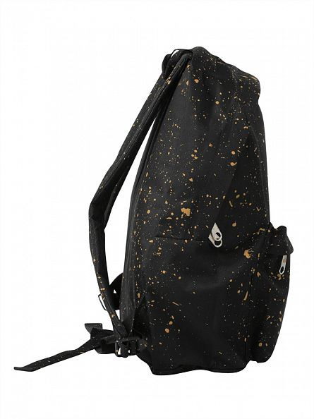 Hype Black/Gold Speckle Backpack
