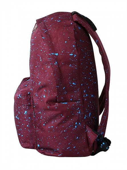 Hype Burgundy/Blue Speckle Backpack