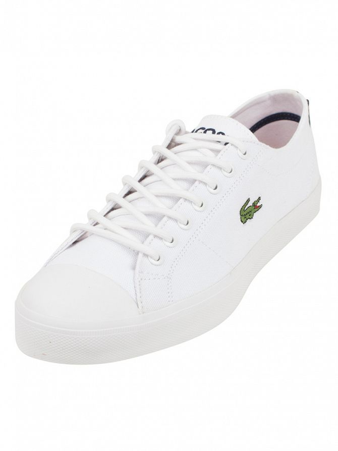 Lacoste White/White Marcel Chunky TC SEP SPM Trainers