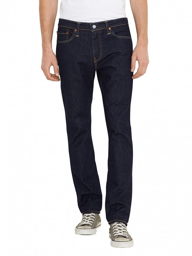 Levi's Blue 511 Slim Fit Rock Cod Jeans
