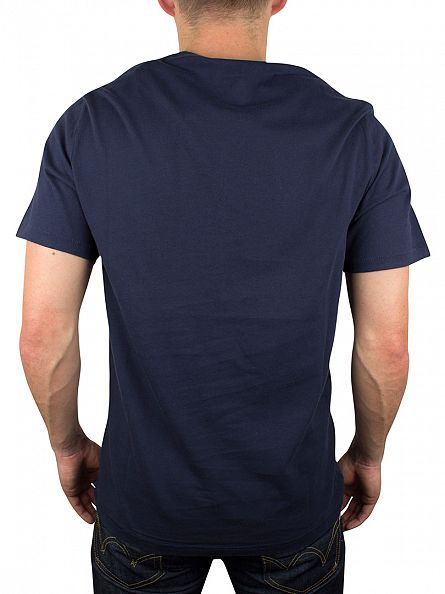 Levi's Blue Red Tab Logo T-Shirt