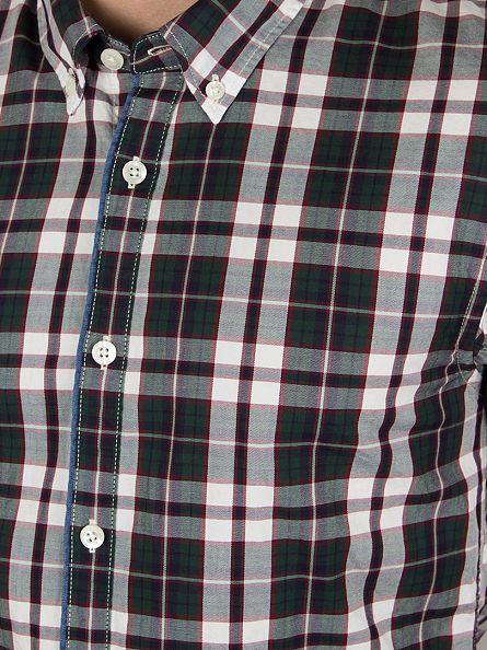 Scotch & Soda Dessin Multicolour Twill Checked Longsleeved Shirt