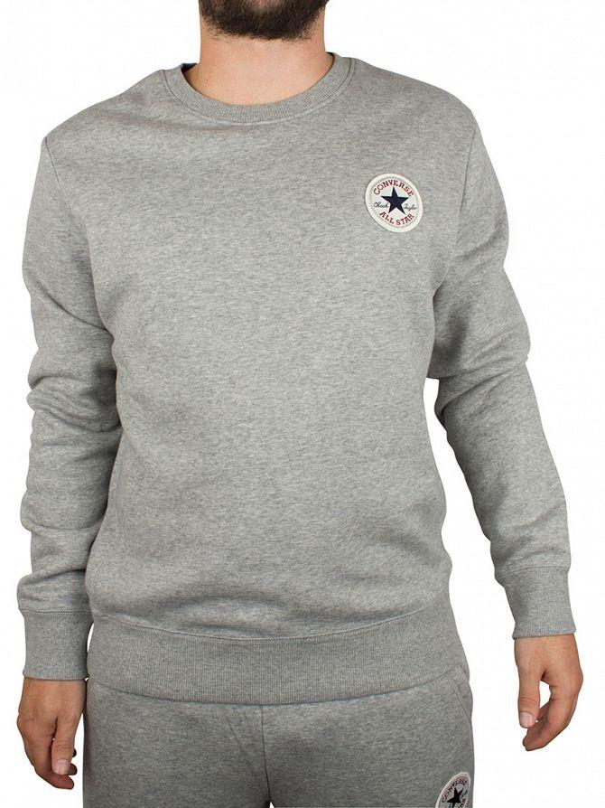 Converse Vintage Grey Core Logo Sweatshirt