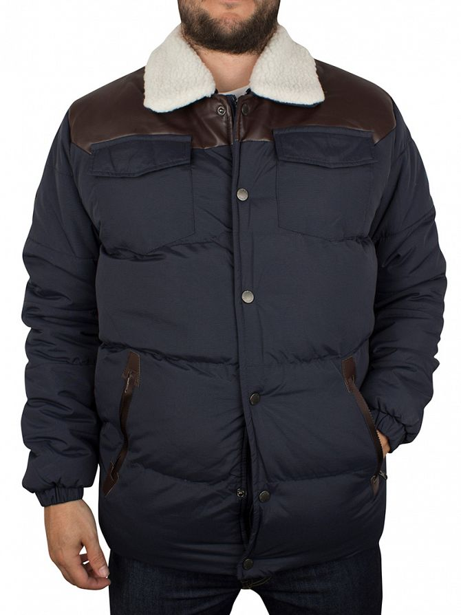 Bellfield Navy Sully Puffa Jacket