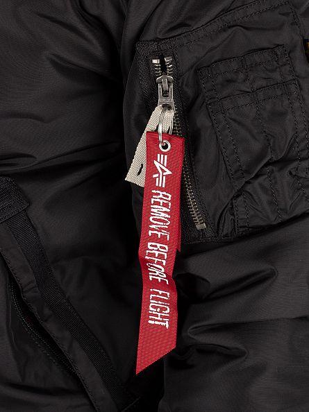 Alpha Industries Black Injector III Jacket