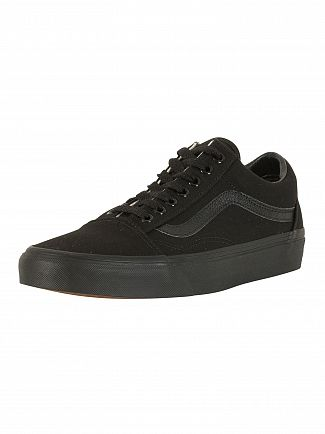 Vans Black/Black Old Skool Trainers