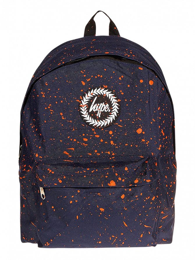 Hype Navy/Orange Speckle Backpack