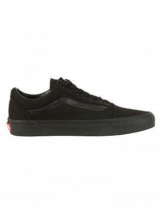Vans Black/Black Old Skool Trainers