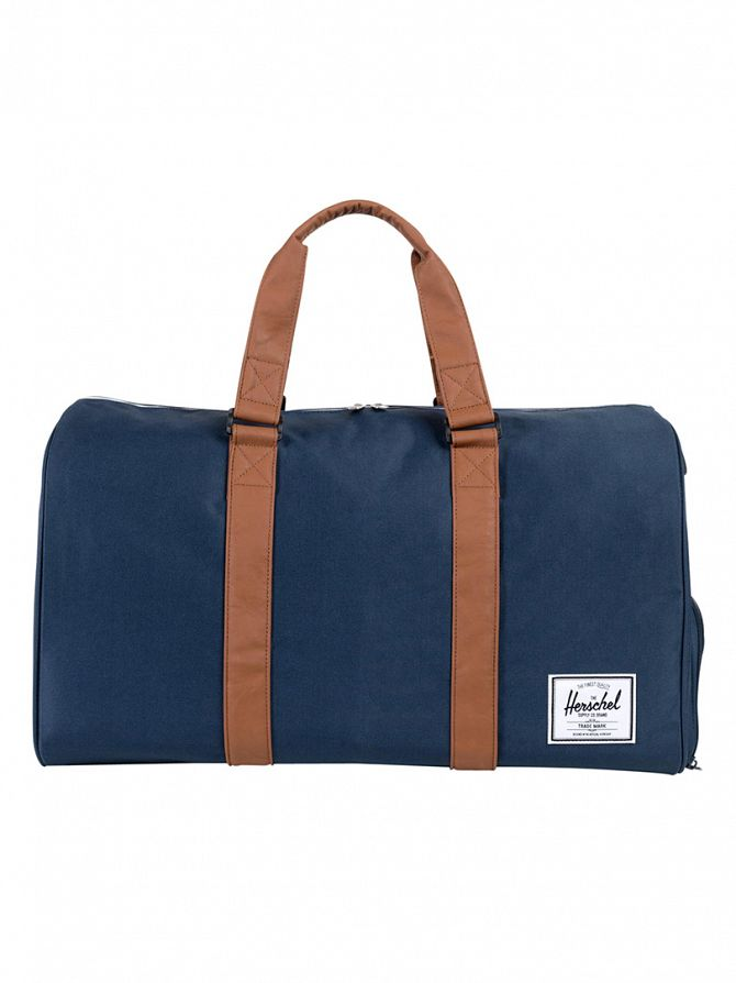 Herschel Supply Co Navy/Tan Novel Duffle Bag