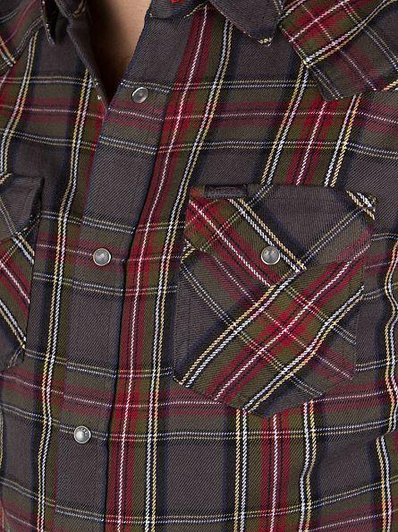 Diesel Green Ulphie Longsleeved Checked Shirt