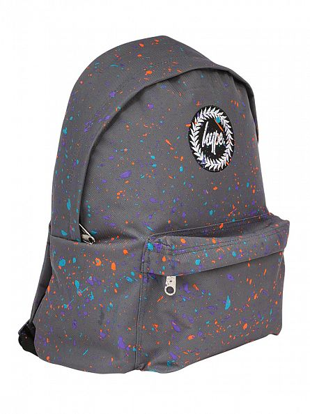 Hype Grey/Multi Primary Splat Backpack