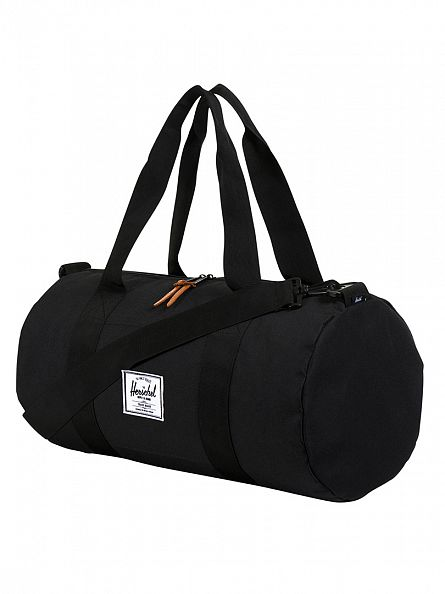 Herschel Supply Co Black Sutton Mid-Volume Duffle Bag
