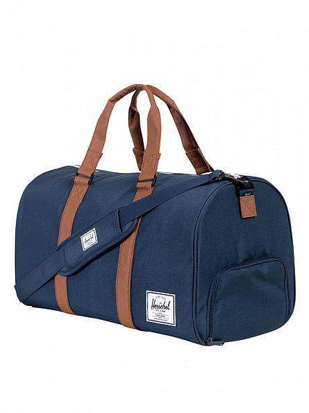 Herschel Supply Co Navy/Tan Novel Duffle Bag
