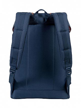 Herschel Supply Co Navy/Tan Retreat Straps Backpack