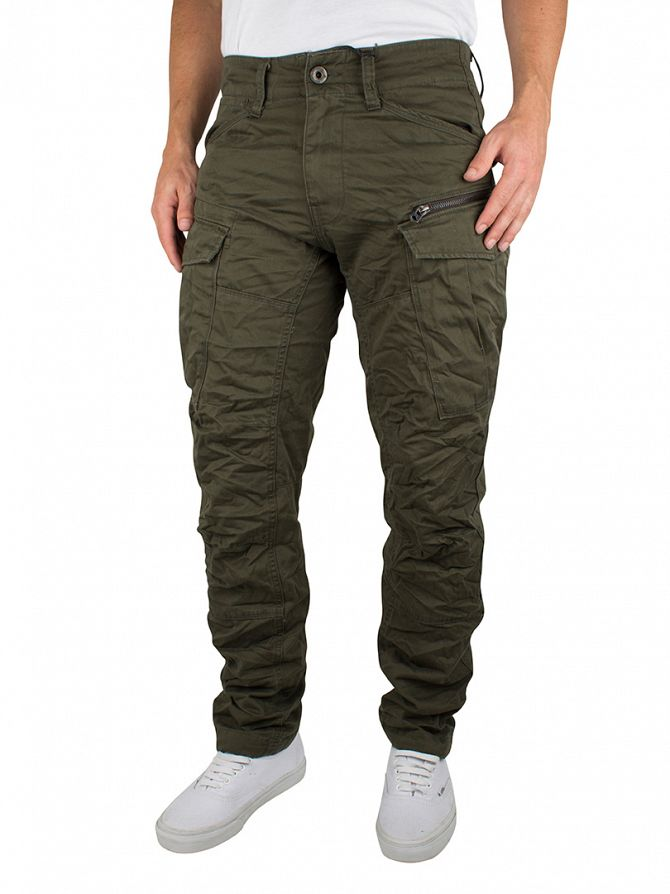G-Star Forest Night Rovic Zip 3D Tapered Cargos