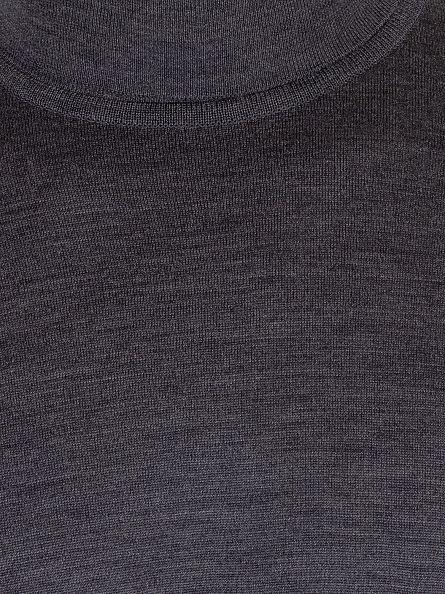 John Smedley Charcoal Richards Roll Neck Knit