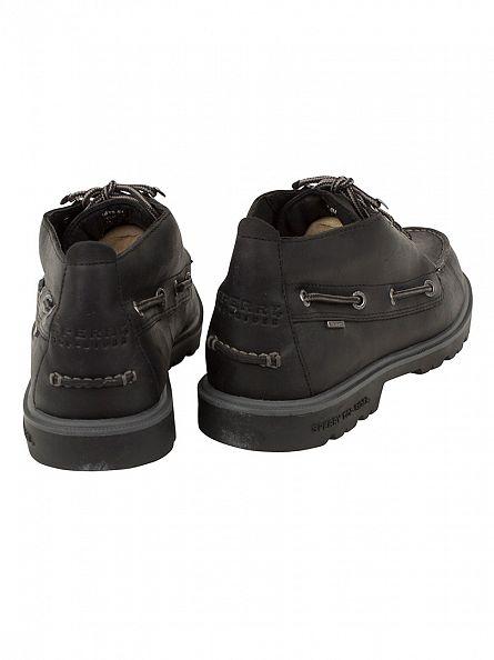 Sperry Top-Sider Black LUG Chukka WP Shoes