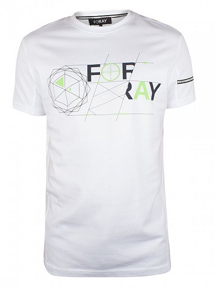Foray White Clutch Graphic T-Shirt