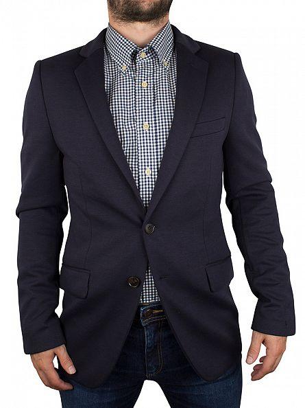 Scotch & Soda Night Neoprene Jersey Blazer