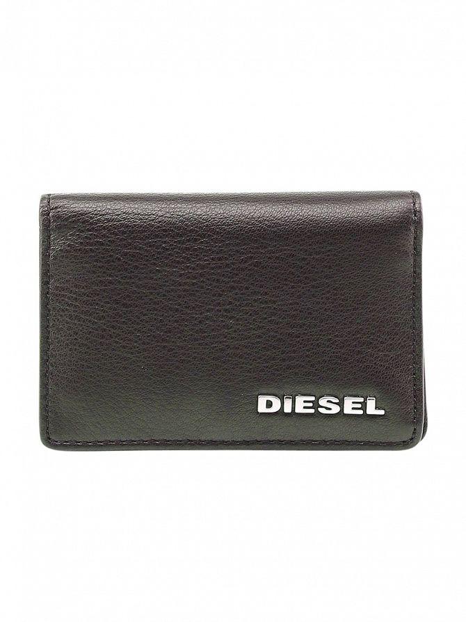 Diesel Brown Dukez Card Holder Wallet