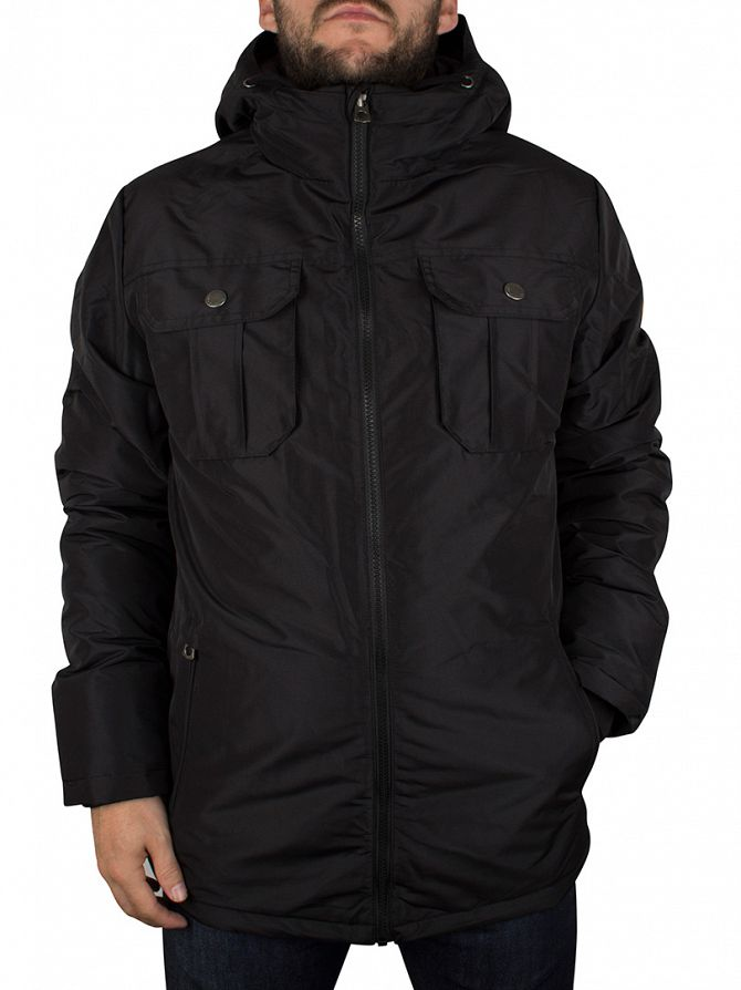 Jack & Jones Black Canyon Short Parka Jacket