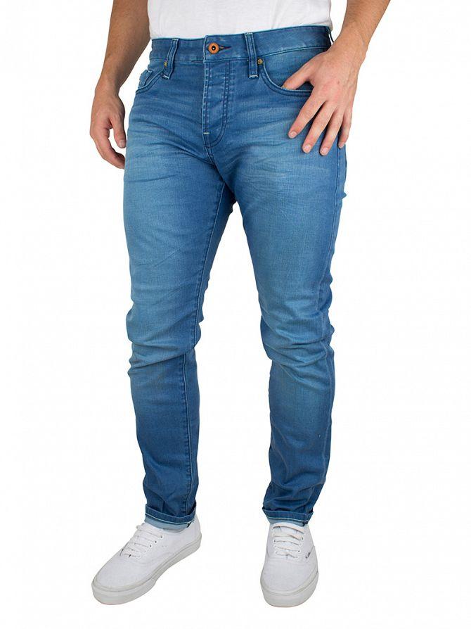 Scotch & Soda Denim Ralston Summer Spirit Regular Slim Fit Jeans