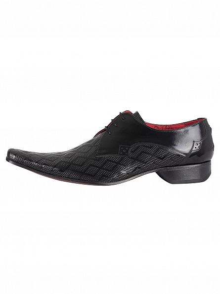 Jeffery West College Black Pino Diamond Shoes