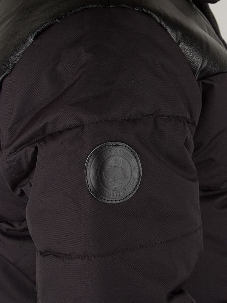 Bellfield Black Kroni Puffa Jacket