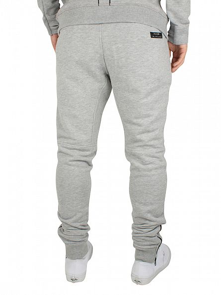 Religion Grey Marl Revolt Loop Back Sweat Joggers