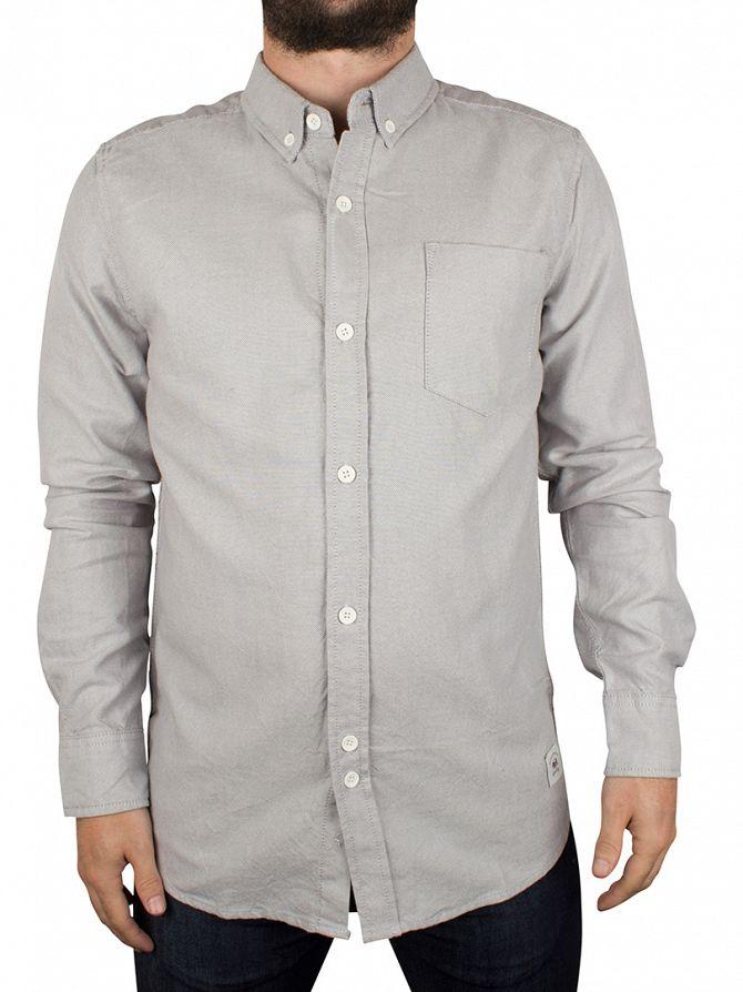 Bellfield Grey Dunes Basic Oxford Shirt