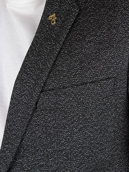 Farah Vintage Black Mappin Fleck 2SB Blazer