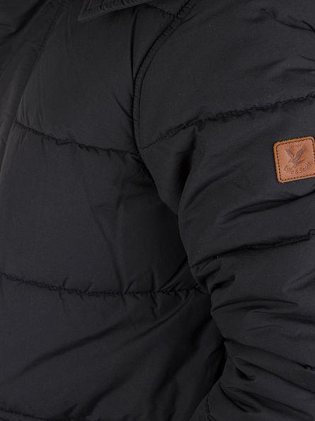Lyle & Scott True Black Highland Parka Jacket