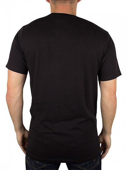 Hype Black Chrome Circle T-Shirt