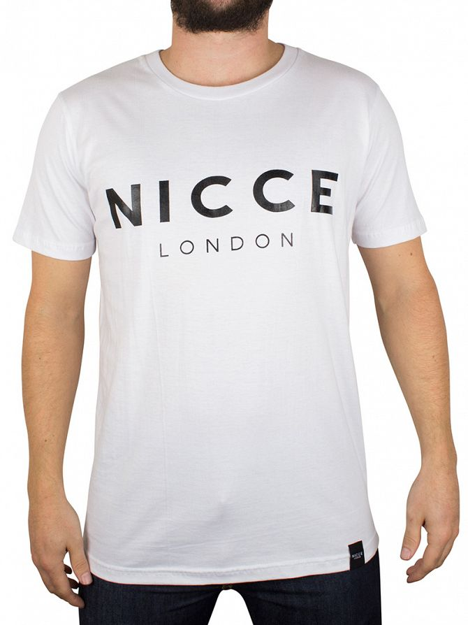 Nicce London White Original Logo T-Shirt