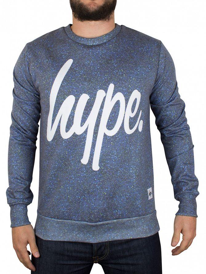 Hype Blueline Sublimation Sweatshirt