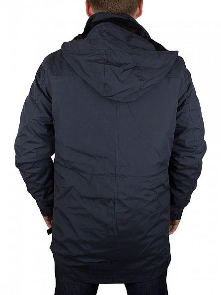 Bellfield Navy Gorin 3 In 1 Pocket Jacket