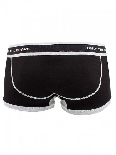 Diesel Black UMBX Hero Fit Boxer Trunks
