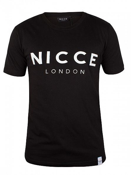Nicce London Black Original Logo T-Shirt