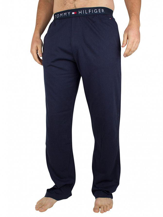 Tommy Hilfiger Navy Blazer Logo Cotton Pyjama Bottoms