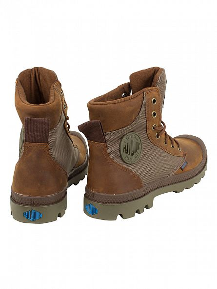Palladium Bridlebrn/Moonmis Pampa Sport Cuff WPN Boots