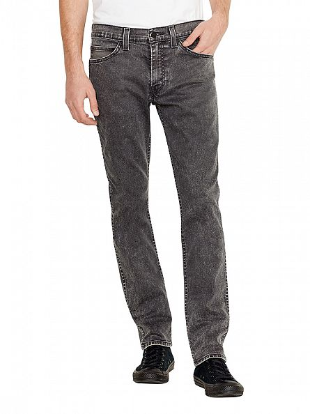 Levi's Charcoal Line 8 511 Slim Washed Out Jeans