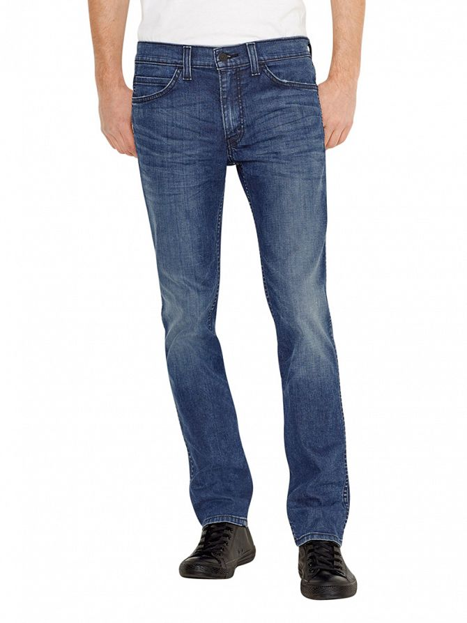 Levi's Indigo Line 8 511 Slim Vintage Worn Jeans